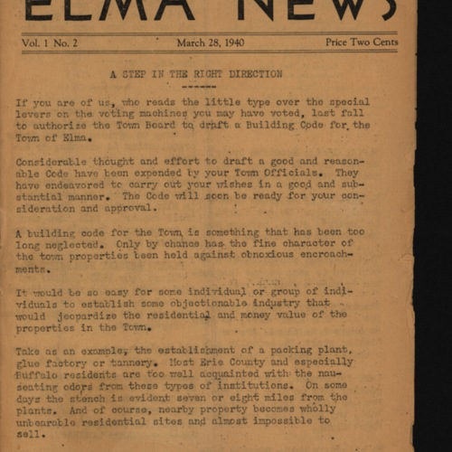 Elma News : March 28, 1940