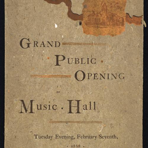 Grand Public Opening