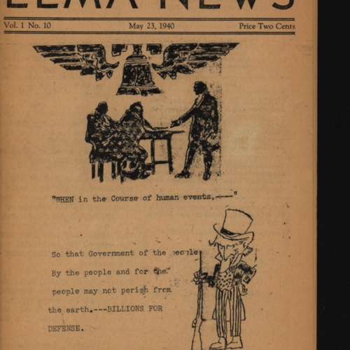 Elma News : May 23, 1940