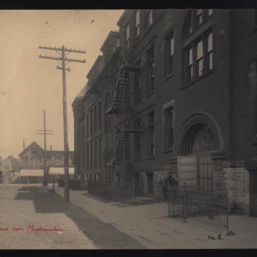 School No. 5, Seneca Street School