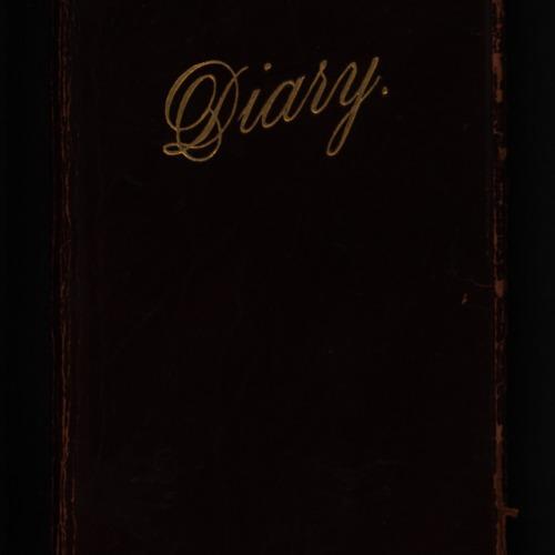 1911 diary of Francis G. Barnes, M.D.