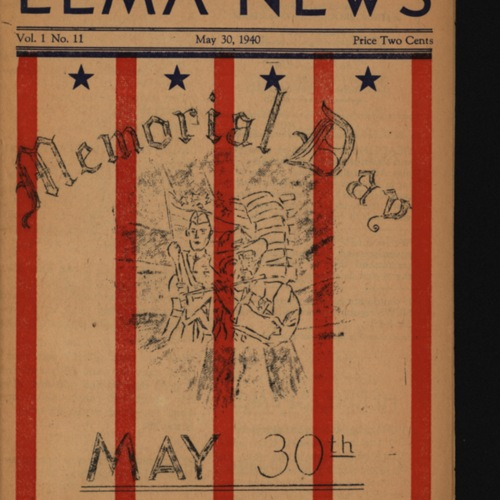 Elma News : May 30, 1940
