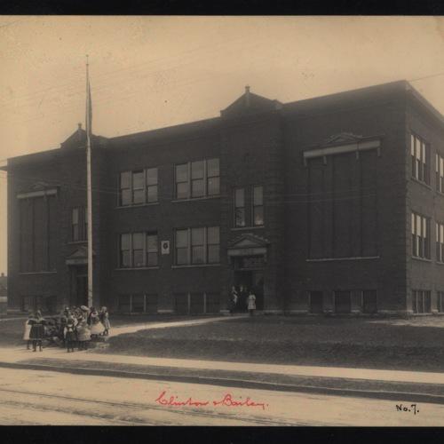 School No. 7, South Bailey Avenue School